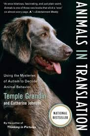 November 5: Animals in Translation (Grandin)